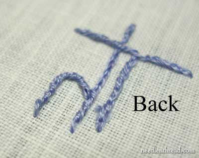 Hand Embroidery Lettering and Text on needlenthread.com
