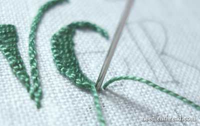 Hand Embroidery: Lettering and Text in Buttonhole Stitch and Stem Stitch