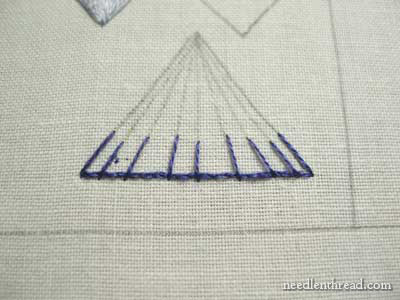 Long and Short Stitch Shading tutorials on needlenthread.com