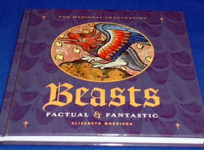 Beasts Factual & Fantastic, as a source of inspiration for embroidery