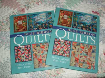 Book Give-Away: Blue Ribbon Quilts