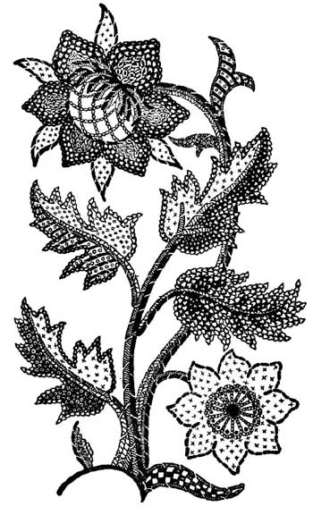 From Embroidery and Tapestry Weaving by A.G. Christie, on Project Gutenberg