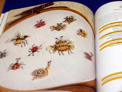 Embroidered Flora & Fauna Three Dimensional Textured Embroidery by Turpin-Delport and Delport-Wepener