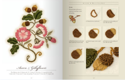 Embroidered Flowers for Elizabeth by Susan O'Connor