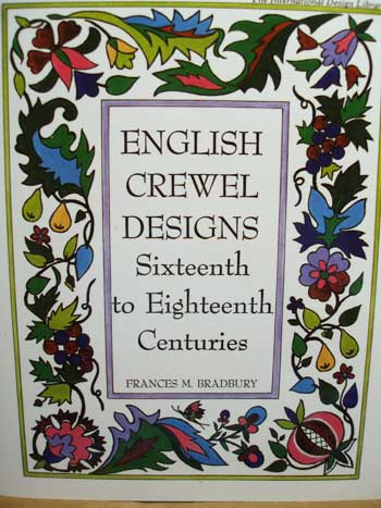 English Crewel Designs: 16th to 18th Century