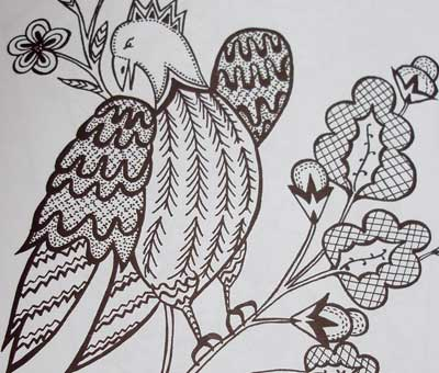 Crewel Embroidery Design Books Double Review NeedlenThread Interesting Crewel Embroidery Patterns