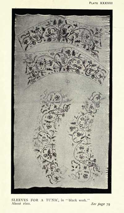 From English Embroidery by A. F. Kendrick