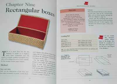 Making Hand-Sewn Boxes - Great Book for Embroidered Boxes Enthusiasts