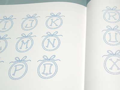 Letters and Monograms from the House of Malbranche