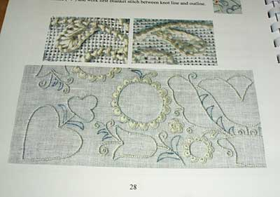 Basic Principles of Schwalm Whitework by Luzine Happel