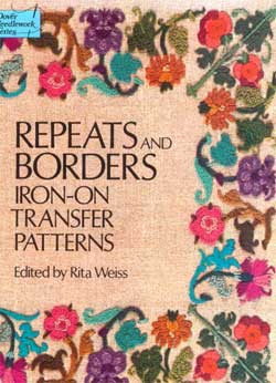 Iron-on Repeats and Borders from Dover Publications
