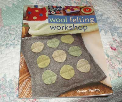 Wool Felting Workshop book give-away