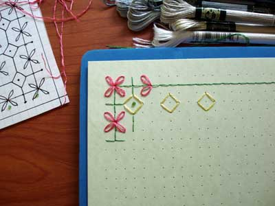 How to Design an Embroidered Greeting Card