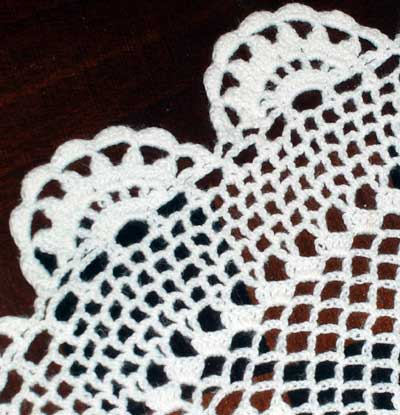 Another one of Mom's Crocheted Doilies