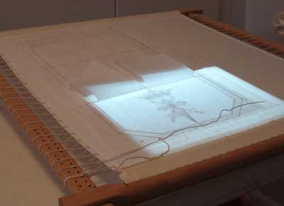 Transferring your Embroidery Pattern onto Fabric