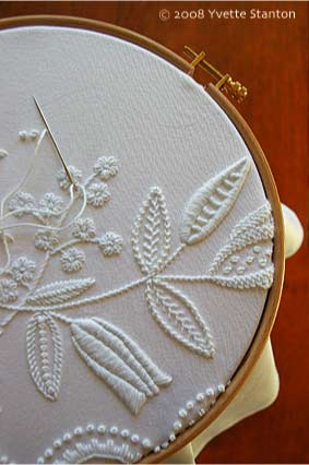 Mountmellick Embroidery by Yvette Stanton