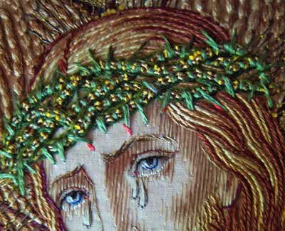 Ecclesiastical Embroidery: The Carrying of the Cross