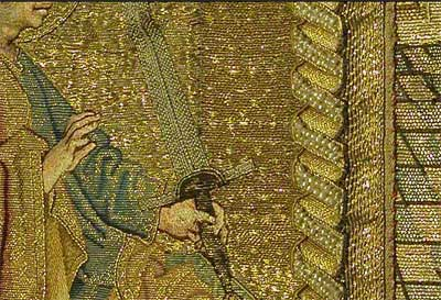 Mantle of the Virgin: Goldwork and Silk Ecclesiastical Embroidery from the 15th century