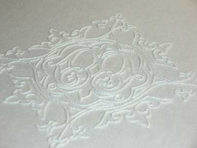 Hand Embroidered Pall