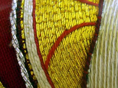 Ecclesiastical Embroidery: Pelican on an Altar Frontal
