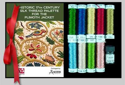 Plimoth Plantation Jacket Thread Pack