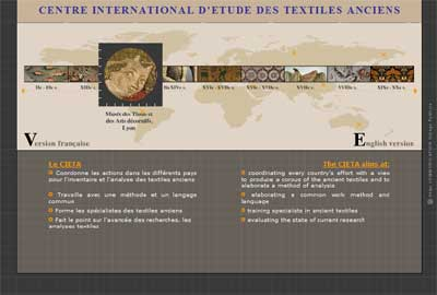 CIETA: Organization Dedicated to the Study of Historic Textiles