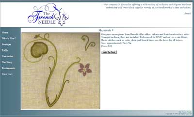 The French Needle Surface Embroidery Kits