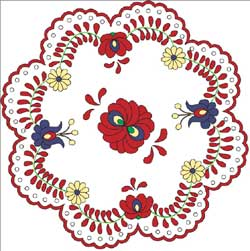 Hungarian Doily Pattern from Piecework Magazine - PDF file