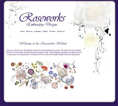 Roseworks Designs Embroidery Kits