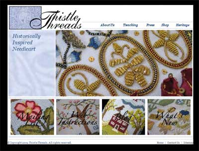 Thistle Threads Website