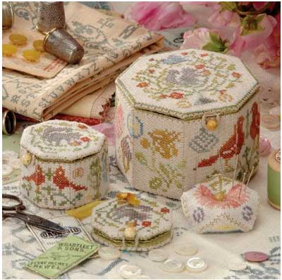 Kits for Embroidered Boxes