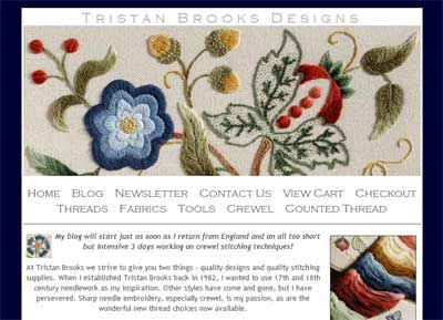 Tristan Brooks Design Website