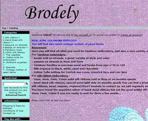 Brodely - Specialty Embroidery Supplies in France