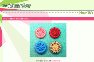 Dorset Button Making Tutorial
