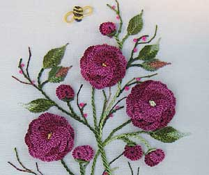 Brazilian Embroidery Tutorials http://www.needlenthread.com/2009/08/notable-needlework-stops.html