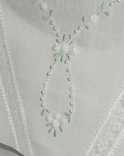 Hand Embroidered First Communion Dress