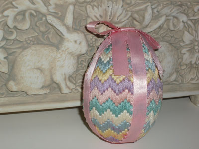 3 D Embroidered Eggs Seeking A Better Pattern Or The
