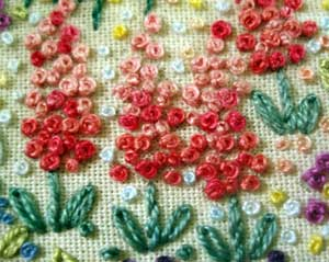 Embroidered Flower Gardens: French Knot Flowers ...