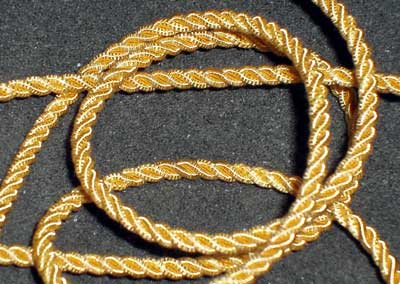 Goldwork thread: Gimp Cord