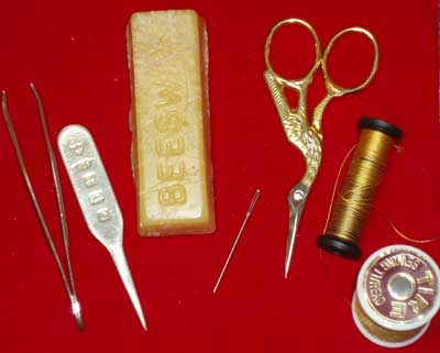Goldwork and Metal Thread Embroidery Tools