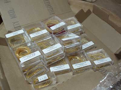 Goldwork Threads / Real Metal Threads / for Upcoming Embroidery Project