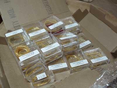 Goldwork Supplies from Hedgehog Handworks