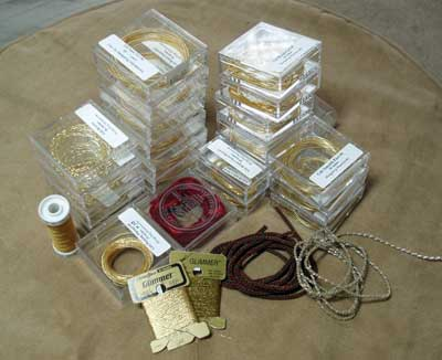 Goldwork Supplies for Hand Embroidery