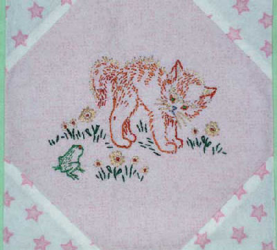 Baby Quilt Embroidery Patterns | makaroka.com : baby quilts to embroider - Adamdwight.com