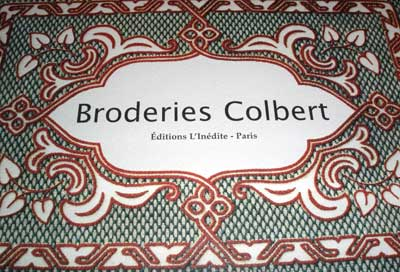 Colbert Embroidery Book