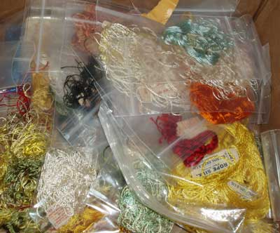 Vintage Embroidery: Silk Art Embroidery Supplies