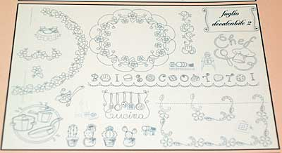 Iron-on Transfers for Hand Embroidery by Mani di Fata of Italy