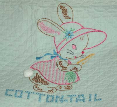 APPLIQUE BUNNY FREE PATTERN