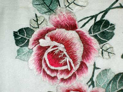 Embroidered Chinese Panel