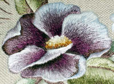 Embroidery by Trish Burr